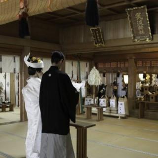 【送迎無料で徹底サポート】神社挙式×オークラ披露宴プラン♪