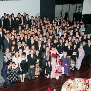 ステージ上に全員集まっての「集合スナップ撮影」もOK!(画像は総勢120名程) JASMAC PLAZA(ジャスマック プラザ)の写真(734126)