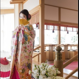 【和モダンな結婚式】自然光の入る館内神殿見学×無料試食付フェア