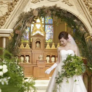 【先輩花嫁に大人気】無料試食会×大聖堂で感動マッピング体験フェア♪
