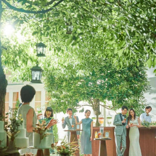 \BIGフェア最終日★/15大特典x緑溢れる邸宅&光の模擬挙式
