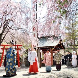 参進風景(春) 冠稲荷神社 宮の森迎賓館 ティアラグリーンパレスの写真(267792)