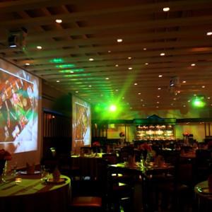 ラムハウスの迫力の200インチ・ツインスクリーン|冠稲荷神社 宮の森迎賓館 ティアラグリーンパレスの写真(267834)