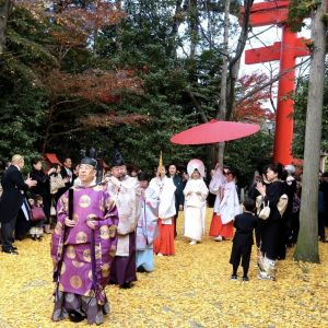 参進風景(秋)|冠稲荷神社 宮の森迎賓館 ティアラグリーンパレスの写真(11404538)