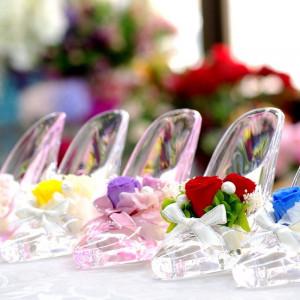 【1件目来館でもらえる】ガラスの靴×試食付シンデレラフェア☆
