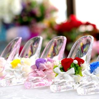 1件目来館で「シンデレラのガラスの靴」プレゼント!