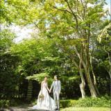 近隣の公園や神社での前撮りサービス[洋装1]