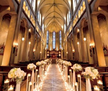 映画のワンシーンのような大聖堂