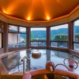 「錦帯橋」「岩国城」が見渡せる絶景の湯ご宿泊のお客様にはゆったりと癒しの時間を・・・