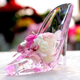 1件目の来館でシンデレラのガラスの靴プレゼント