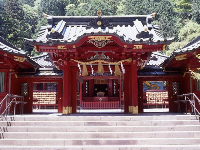箱根神社見学