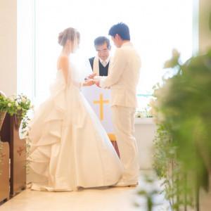 二人の永遠の幸せを牧師が祈る|観音崎京急ホテルの写真(1469566)
