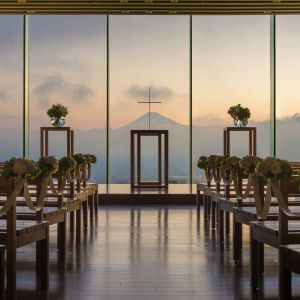【挙式場】 季節・時間によって表情を変える自然の風景|日本平ホテルの写真(1704508)