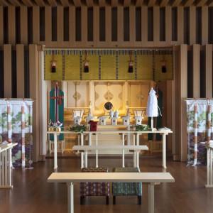 【神殿】 久能山東照宮の神様におふたりの結婚の誓いをたてます|日本平ホテルの写真(466966)