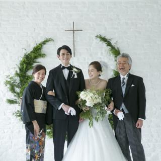 【お急ぎ婚、Wハッピー婚も楽々準備】イチからわかる家族の結婚式