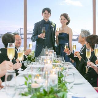 【ドレス試着付き】海の見える結婚式相談会