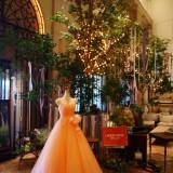 会場の雰囲気に合わせたドレス選びが おすすめです。