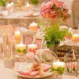 淡いピンクは誰もが憧れるふんわりとしたかわいい空間を演出できます。