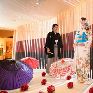 モダンな創りの神殿参道は、写真撮影でも人気のスポットです|ホテル国際21の写真(1295450)