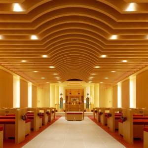 悠久の歴史とともに人々を守り続けてきた諏訪大社の御祭神が祀られた神殿「誓言」|ホテル国際21の写真(1295376)