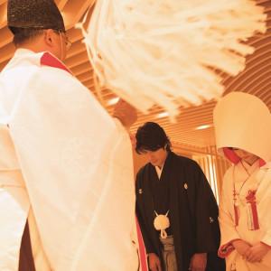 一つ一つに意味が込められた大切な儀式を経て、おふたりはご夫婦となります|ホテル国際21の写真(1295451)