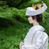 日本の伝統美・白無垢