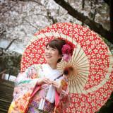 ロケーション前撮りシーン【春】