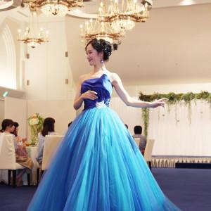 2018.8.5ブライダルファッションショー衣装提供:グランジュール|長崎インターナショナルホテルの写真(2952204)