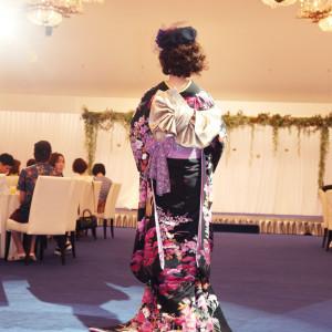 2018.8.5ブライダルファッションショー衣装提供:グランジュール|長崎インターナショナルホテルの写真(2952229)