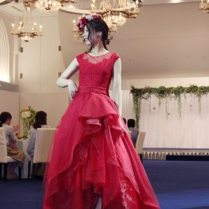 2018.8.5ブライダルファッションショー衣装提供:グランジュール|長崎インターナショナルホテルの写真(2952205)