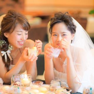 平日限定「花嫁カフェ」