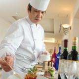 ベルクラシック空港の調理長、原野が手掛ける料理はゲスト皆様に喜んで頂けること間違いなし!