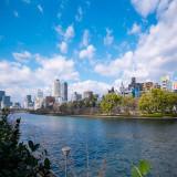 水都大阪の象徴でもある大川。エリアならではで観光も一緒にでき遠方の方も楽しめます