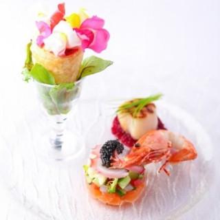 【来館特典】旬の食材を使ったシェフ特製ワンプレートを無料でご用意!