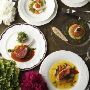 【イチオシ☆】お肉・お魚料理2種選べる試食×演出体験☆