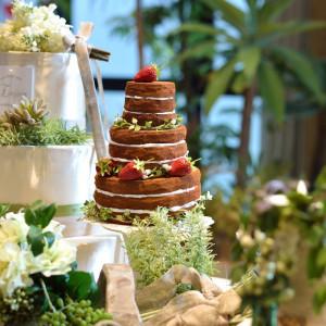 自然と一体化したケーキもポイント♪おとぎ話のような雰囲気 アーセンティア迎賓館(柏)の写真(879610)