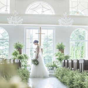 水・光・緑が包む神秘的な空間は、花嫁姿を引きたててくれる|アーセンティア迎賓館(柏)の写真(3528112)