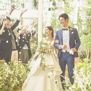 "【平日限定7大BIG特典】緑×リゾート""森の教会""模擬挙式"