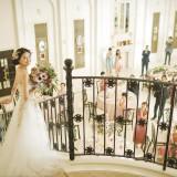 プリンセス気分を満喫できる階段からの入場は絶好の撮影スポット!