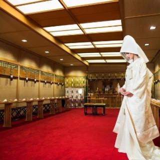 【白無垢が映える空間】神社式&ホテル内神殿式×和婚相談会