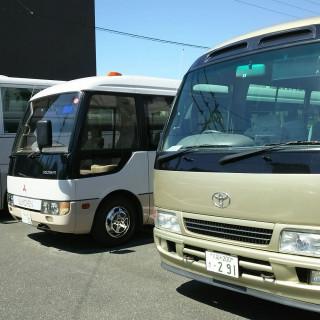 マイクロバス(福岡佐賀)2台送迎プレゼント