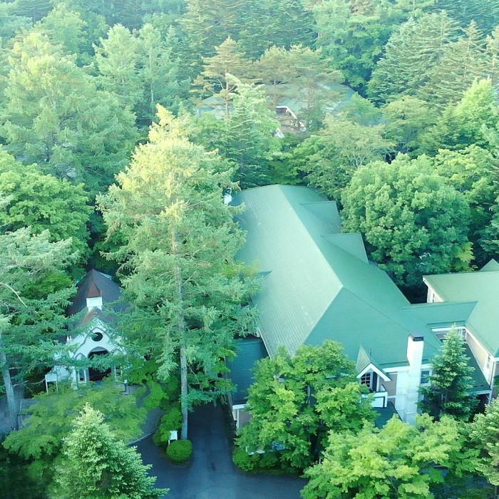 旧軽井沢礼拝堂 旧軽井沢ホテル音羽ノ森
