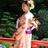 日本庭園でのメモリアルフォト