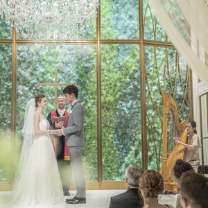 神聖な雰囲気のチャペルで永遠を誓おう|北山迎賓館(京都)の写真(6943513)