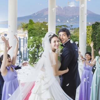 【桜島を一望出来る】◆大階段×婚礼試食◆欲張りフェア♪