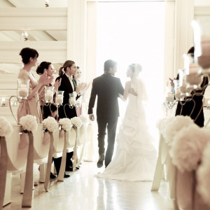 ゲストに祝福され幸せは最高潮に|アーフェリーク迎賓館 大阪(テイクアンドギヴ・ニーズ)の写真(2833613)