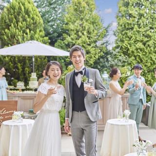 当日予約OK「夢の国チケット付」結婚式体験×絶品フルコース試食