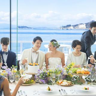 【家族婚フェア】海を見渡す別邸でのプライベートファミリーW♪