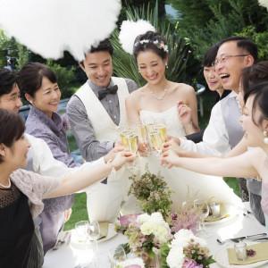 【★家族結婚式検討の方オススメ★】少人数ウェディングフェア