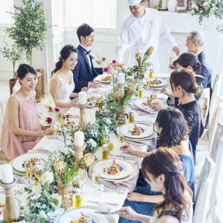 【10名~29名】家族挙式&お食事会★豪華メイン試食&少人数プラン